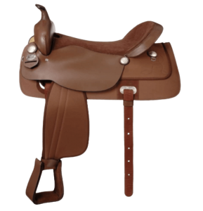 King Series - Synthetic Western Trail Saddle