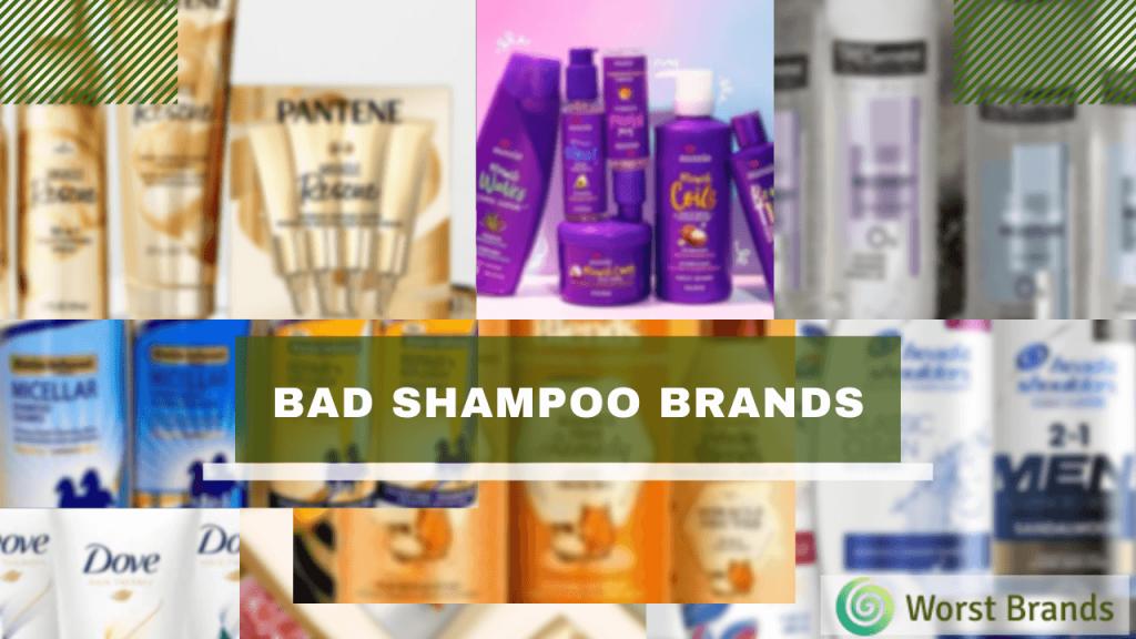 Bad quality worst Shampoo Brands